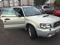 Subaru Forester 2,5 XT swap STI
