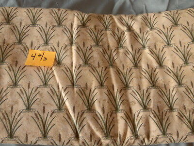 4 2/3 yds Quilting Sewing Fabric Flannel Sue Marsh Marcus Brothers Textiles Marsh Flannel Fabric