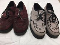 DR MARTEN Ladies Creepers x 2 - Size 5