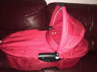 Quinny Buzz Red Travel System with Accessories