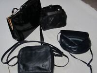 Assortment of 4 ladies' quality handbags all in excellent condition – sell the lot for .......
