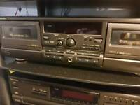 Technics trs 474 mk2 double tape deck in good condition