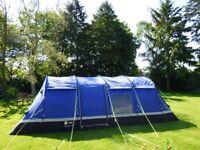 Bundle Deal: Hi Gear Kalahari 8 person family tent,carpets and Camping Gaz stove included.