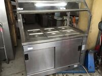 WET BAIN MARIE CATERING COMMERCIAL FAST FOOD RESTAURANT TAKE AWAY KITCHEN FAST FOOD SHOP KITCHEN