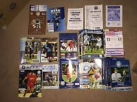 Wycombe Wanderers Programmes Over 140 Inc. FA Cup Leicester & Signed Bohemians