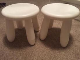 Kids stools Ikea x2