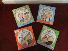 4 Charlie and Lola books