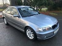 Superb Value 2004 BMW 320D ES Saloon Miles MOT Dec 2018 Great Parrot Handsfree CD System HPI Clear