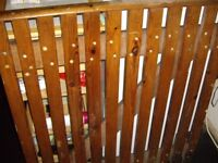 SOLID WOODEN GATE