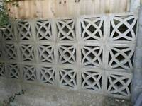 California leaf screen decorative wall blocks