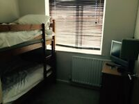 Small bunk bed room to rent NOW. Short term. Nightly £20 weekly £85. 15 min walk to city centre