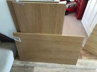 Komplement Shelf - 100 x 58 cm Oak Effect - for Ikea Pax Double Wardrobe