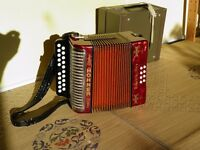 Hohner B/C Double-Ray Button Accordion