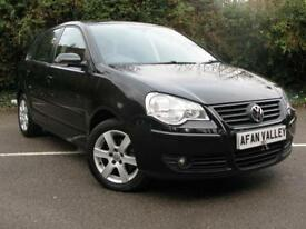Volkswagen Polo Match 5dr **FINANCE AVALIBLE** (black) 2009
