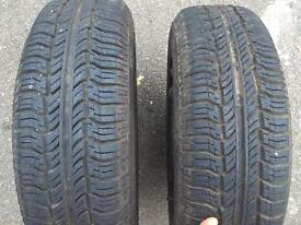 Steal wheels with tyres Pirelli P3000 165/70 R13