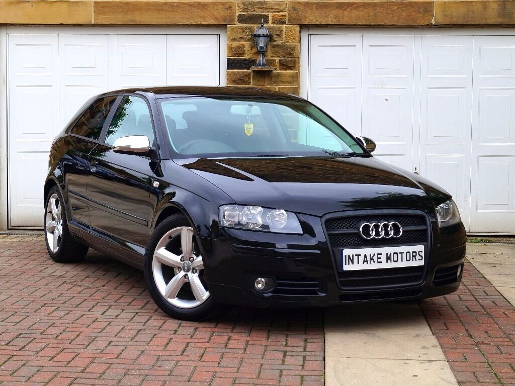 2006 audi a3 1 9 tdi 3dr s line styling bose half. Black Bedroom Furniture Sets. Home Design Ideas
