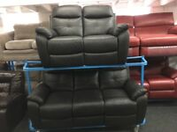 New/Ex Display Maple LazyBoy Recliners 3 + 2 Seater Sofas