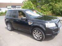 Land Rover FREELANDER 2.2 TD4 HST,2179 cc 4x4,Auto,full heated cream leather interior,sports seats