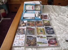 nintendo wii package plus 13 games