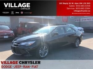 2017 Toyota Camry SE|BLUETOOTH|BACKUP CAM|HEATED SEATS|ALLOYS