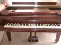 CRAMMER BABY GRAND PIANO 5 FT ROLLER GRAND £450 CAN DELIVER