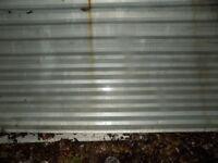 4 large corrugate sheets
