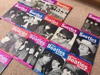 Original The Beatles monthly book magazine