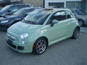 2012 Fiat 500 Sport  WINTER WHEELS INCLUDED