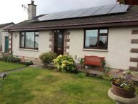 Detached bungalow Old milnafua rd Alness Home report value £172,000. Fixed price £169,000.