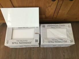Johnson & Johnson pure white tiles