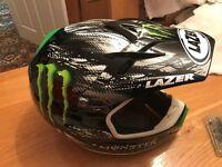 Carbon fibre motocross helmet XS **as new**