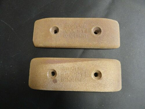 """PAIR (2) STANDARD DYNAPLATE GUEST ANODES 5-3/4"""" X 2"""" X 1/2"""" MARINE BOAT"""