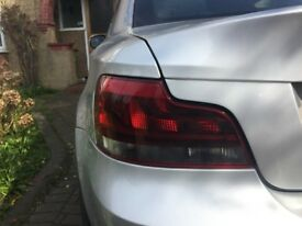 LEFT AND RIGHT COMPLETE -BMW 1 SERIES E82/E88 SPORTS PLUS REAR LCI BLACK LINE TAIL LIGHT