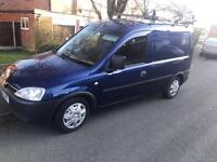 2011 60reg Vauxhall Combo 1.3 Cdti Metallic Blue Roof Rack