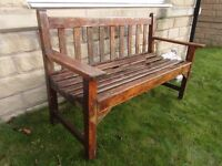 Outdoor Teakwood Garden bench