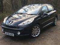 2009 Peugeot 207 GT HDi 1.6 Diesel 5dr, Feb2018 MOT, Full Leather, £30 Tax, Panoramic Sunroof
