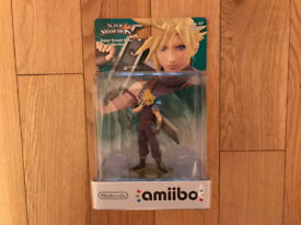 Cloud No.57 Amiibo. Brand New