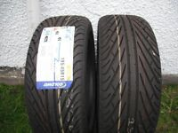 Pair of new 195/45x15 Tyres