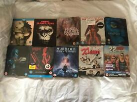 Massive collection of Blu-ray steel books