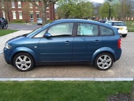 Lovely AUDI A2 petrol car 1.6 fsi