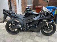 2007 Kawasaki zx6r ninja black