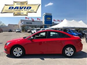 2016 Chevrolet Cruze LIMITED LS/ AC/ CDMP3/ XM/ BT/ LOCAL TRADE