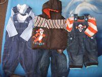 baby boys clothes 0-3 £18
