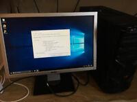 Desktop PC i5-2500k 3.3Ghz / Nvidia GTX 760 + Monitor