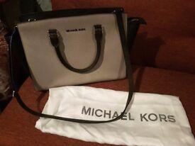 Michael Kors Genuine Grey Handbag