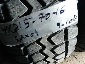 4PNEUSHIVER 215-70-R16 SAXON 9-10-32