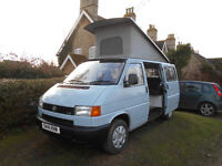 VW T4 2.5Tdi Pop top campervan 1998 One previous owner full service history