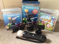 Sony PlayStation 3 Move Starter Pack - PS3 - PS4 - VR - Nice Condition