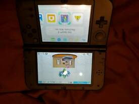 """New"" Nintendo 3ds xl with games"