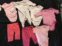 7.5lb baby girl clothes bundle